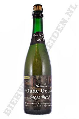 Horal's Oude Geuze Mega Blend 2011 75 cl SOLD OUT!! UITVERKOCHT!!