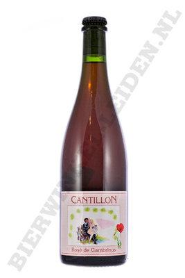 Cantilon - Rose Gambrinus 75 cl UITVERKOCHT