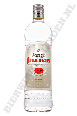 Filliers - Jonge Jenever literfles.