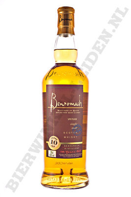 Benromach - 10 Years nieuwe botteling, 70 cl
