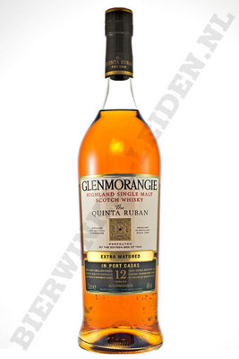 Glenmorangie - The Quinta Ruban - Port Cask 12 Years literfles.