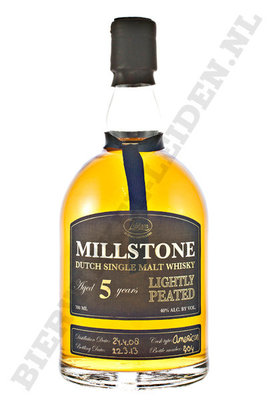 Millstone - 5 Years lightly peated.