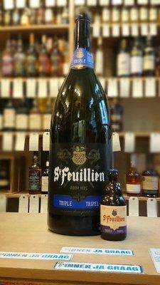 St.Feuillien tripel 9 liter...