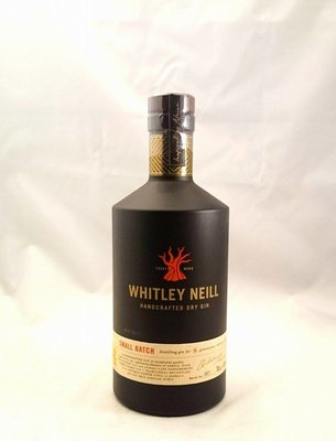 Whitley Neill Dry Gin 70 cl