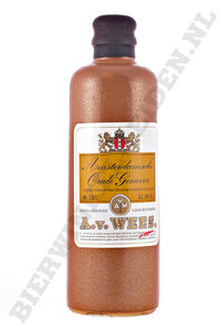 A. v. Wees - Amsterdamsche Oude Genever 35 cl.