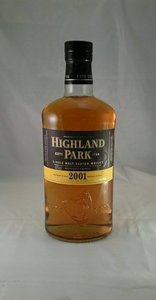 Highlandpark 2001 literfles